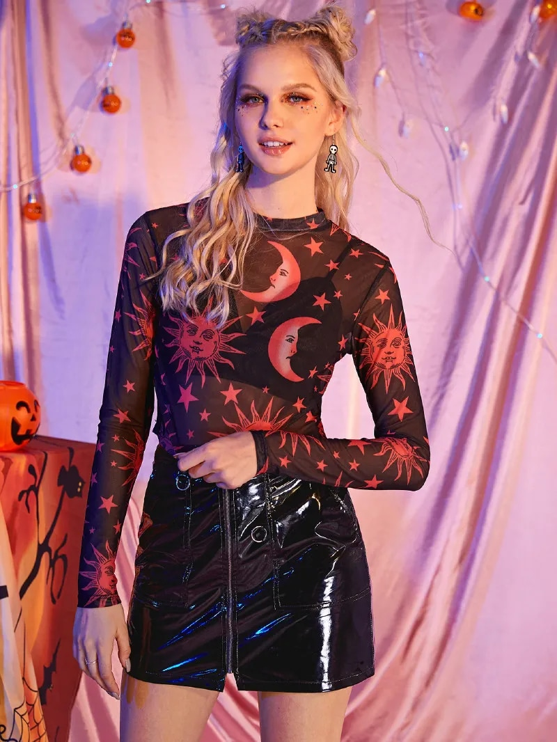 New Cool Halloween Look From Romwe under $20
