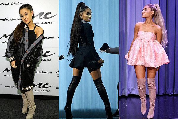 Ariana Grande Celebrity Face and Style