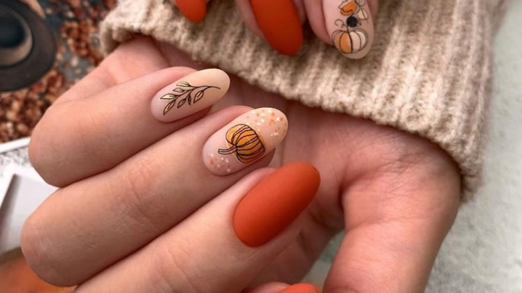 Gorgeous Fall Nail Designs To Get